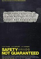 Safety Not Guaranteed full movie