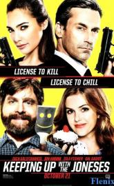 Keeping Up with the Joneses full movie