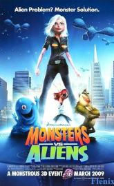 Monsters vs. Aliens full movie