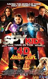 Spy Kids 4-D: All the Time in the World poster
