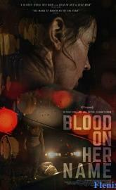 Blood on Her Name poster