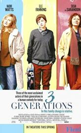 3 Generations poster